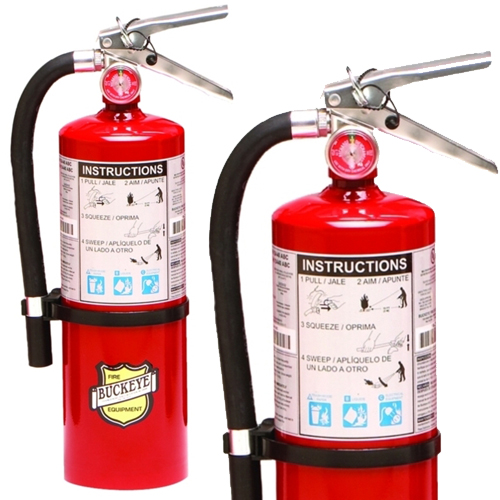 Abc Fire Extinguisher >> Buckeye 5 LB. ABC Multipurpose Dry Chemical Fire ...