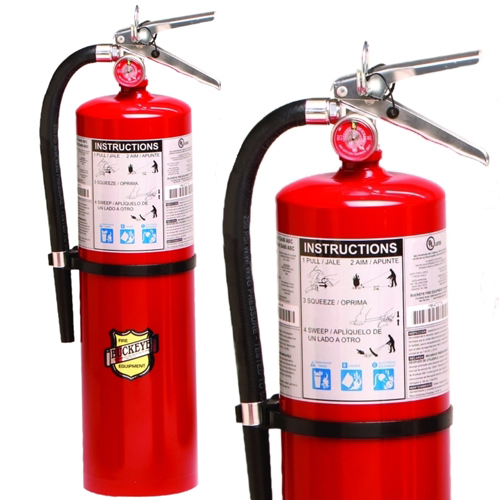 buckeye 10 lb abc multipurpose dry chemical fire extinguishers