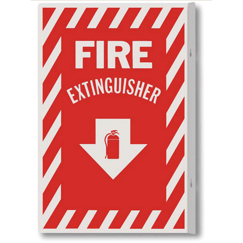 Aluminum Fire Safety Signs