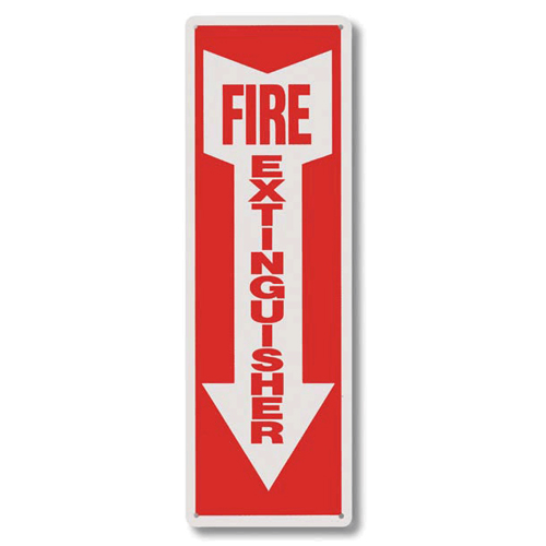 Fire and Safety Signs, Vinyl